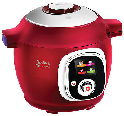 Tefal CY7015 Cook4Me Pressure Cooker - Red