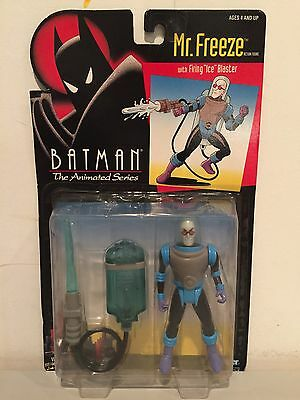 Batman Animated Series *NEW IN BOX* SEALED Vintage Mr Freeze Kenner 1992