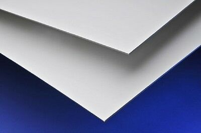 White PVC uPVC Hygenic Wall Cladding 8ft x 4ft 1220mm x 2440mm 2.5mm Thick