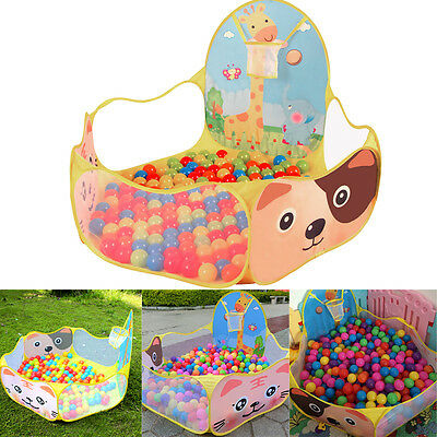 New Foldable Play Ocean Ball Pit Pool Tent Kids Child Playpen Indoor Outdoor Toy