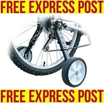 """Heavy duty Adjustable Adult Bicycle Bike Training Wheels Fits 20"""" to 26"""" EXPRESS"""