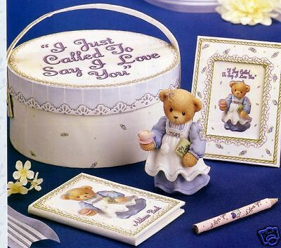 Cherished Teddies Mother-Just Called To Say I Love You 5Pce Gift Set 797170/a