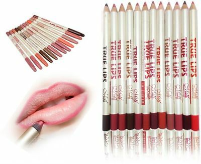 Genuine MeNow Lip Liner Pencil. Waterproof. Multi-Vitamin. With Aloe Vera (P32)