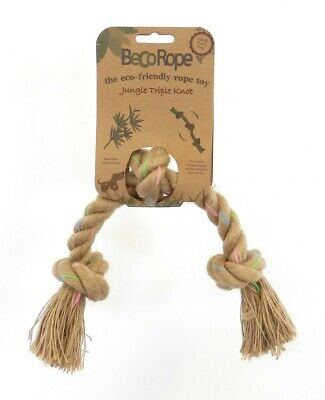 Beco Things Jungle Rope, Triple Knot, Large, Premium Service, Fast Dispatch