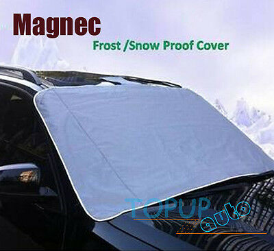 Magnetic Windscreen Sun Shade Blind Car Cover Half Snow Frost Protector Shield