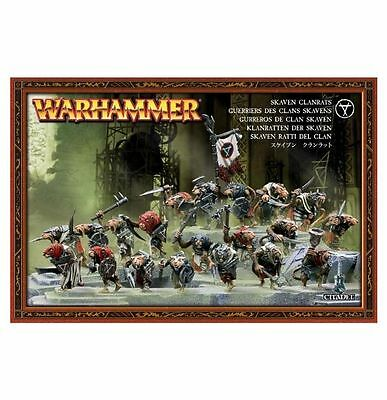 Skaven Clanrats - Warhammer - Fantasy - Games Workshop - 40K