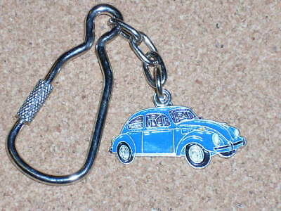 VOLKSWAGEN BUG car shape - keychain GIFT BOXED