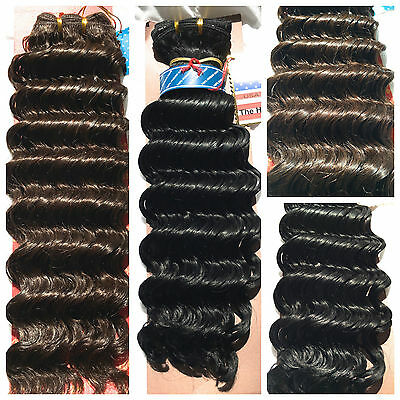 100% HUMAN HAIR by AMERICAN PRIDE - 16 inches Deep Curly wave weave