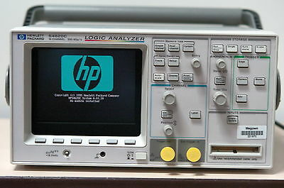 Keysight Agilent / HP 54620C 16 Channel 500 MSa/s Portable Color Logic Analyzer