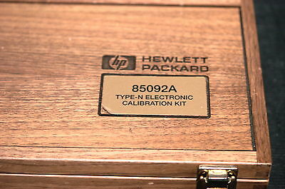 Keysight / Agilent / HP 85092A Electronic Calibration Kit Type N 30 kHz to 6 GHz
