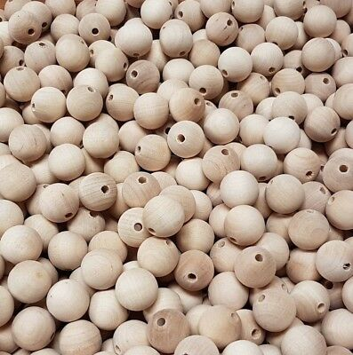 Set 10x20mm Natural Wooden Beads. Very good quality