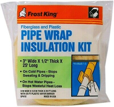 Thermwell #SP41X Fiberglass Pipe Insulation Kit,No SP41X,  Thermwell Products