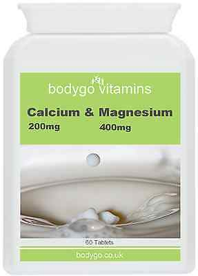 Calcium 400mg and Magnesium 200mg