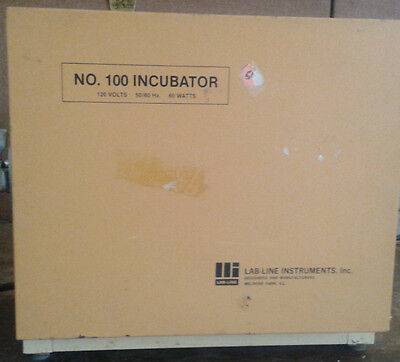 Lab-Line Instruments No.100 Incubator Compact Benchtop Model!
