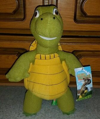 Over The Hedge approx 10 inch Verne The Turltle Plush Toy By Gosh with tag