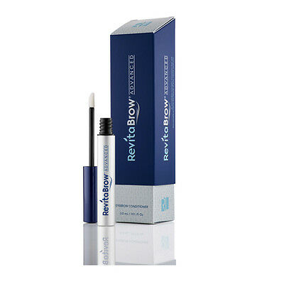 RevitaBrow Advanced Conditioner 3.0ml 0.10oz EyeBrow Growth Sealed 4Month Supply