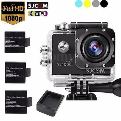 SJCAM SJ4000 WiFi HD 1080p Waterproof Sports Action Camera Car DV Camcorder Code