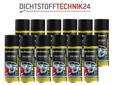 12x Den Braven Zinkspray 400ml