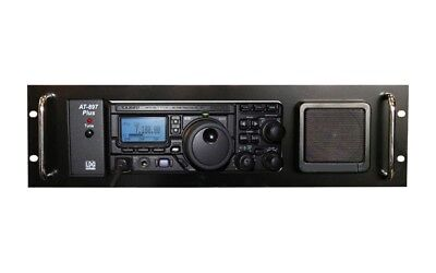 Rack Mount for YAESU 897D with LDG AT897 or Yaesu FT30 Tuner (or any other 3U)