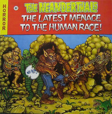 The Neanderthals The Latest Menace To The Human Race - No Hit Eddie Angel Boz LP