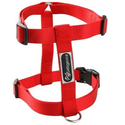 New Wholesale Lot Of 10 Dog Nylon Harnesses Size Large Color Red