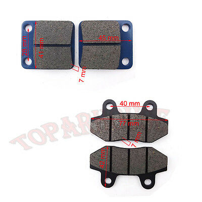 Front & Rear Brake Pads For 50cc 125 140 150 160 cc Pit Dirt Bike  Thumpstar SSR