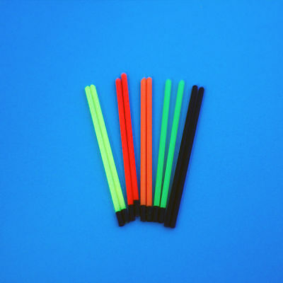 SMALL BORE HOLLOW  POLE  FLOAT TIPS 1.2mm TO 3.0mm (25s 20s 50s)