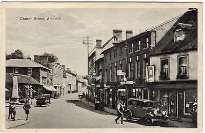 1940's  AMPTHILL  Church Street Luton Bedfordshire  Postcard