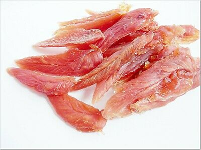 500g   Dried Soft Chicken Breast Strips - snacks treats chews , delicious