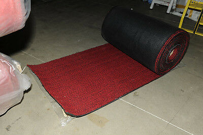 Coir Material Roll - Red/Black