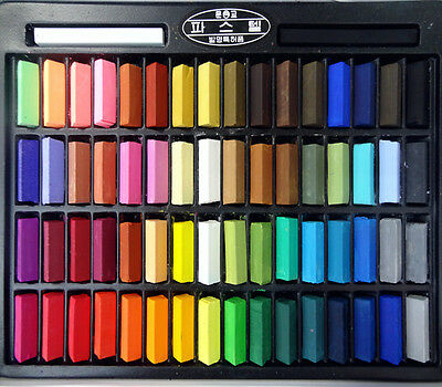 Mungyo Non Toxic Soft Pastels Set 24 32 48 64 Colors Vivid Half Size For Artists