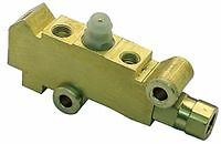 Proportioning  Valve Gm Style Suit 4 Wheel Disc  Brakes - Brass