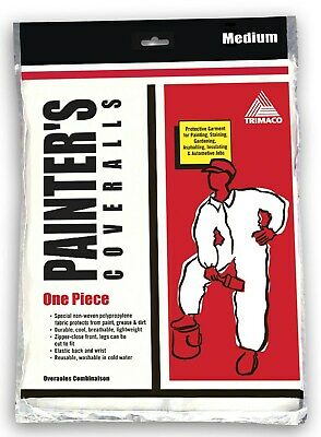 Painter's Poly Coveralls,No 9901,  Trimaco, Llc