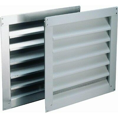 Aluminum Wall End Louver,No 81202,  Air Vent Inc.