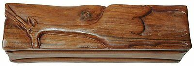 Hand Carved Jewelry Box in Sandalwood