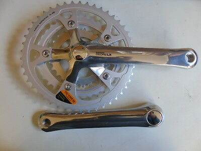 Shimano Deore LX FC- M550 Biopace 46T-36T-26T 175mm chainset