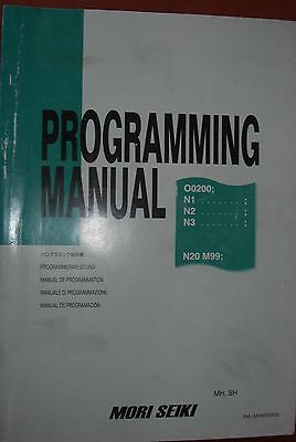 Mori Seiki Programming Manual MH, SH