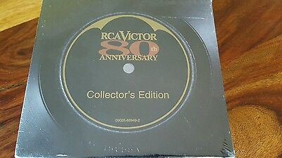 extremely rare 1997 RCA Victor 80 anniversary - collector's edition (new sealed)