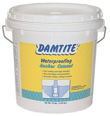 Cement Anchoring Wtrprf 12lb,No 08122/08121,  Damtite Waterproofng