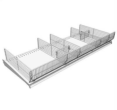 """SHELF DIVIDER,WIRE 3X15"""" 40/BX,No BFD315-PK40-BCP,  LOZIER CORP"""