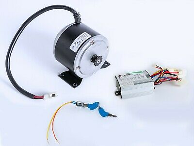 500 Watt 24 Volt Electric scooter Motor Currie XYD-6B2+Controller+Switch f IZIP