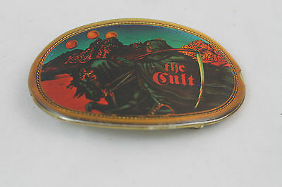 Vintage Blue Oyster Cult Pacifica 1977  Belt Buckle  Reaper