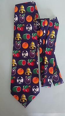 Tattersalls tie, gamblers collectible, poker machine signs, lotto etc. NEW