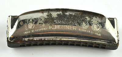 Vintage Harmonica M.hohner Unsere Lieblinge Made In Germany
