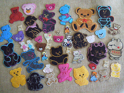 $2.99 For Lot of 4 Pieces Bear/Winnie the Pooh Embroidered Iron On Applique zhi6