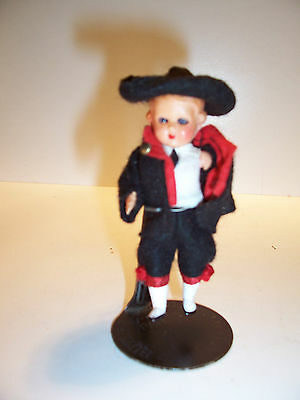 Vintage Miniature Celluloid Doll 3.5""