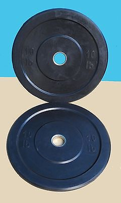 TDS Fitness Rubber Bumper Plates 10 lb. (Sold as pair)