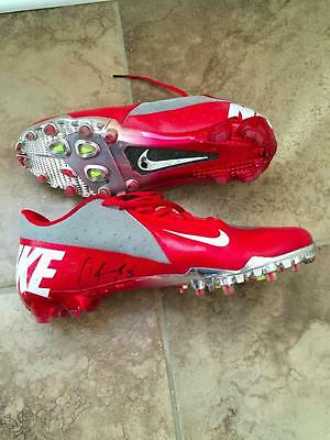 Ohio State Game Used Nike Cleats Vapor Elite Corey Brown Pro Combat 2012
