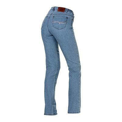 Damen Jeans Damenhose Jeans Dehnbund Stretch Hose Authentic 5 Pocket Hose blau