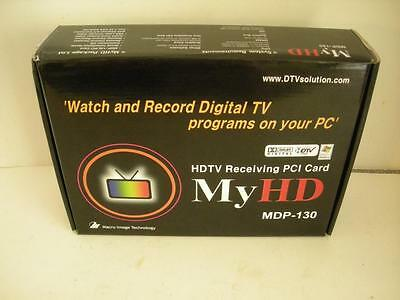 NEW Macro Image MyHD MDP-130 PCI HDTV Tuner/Decoder Camcorder Card + Input Cable
